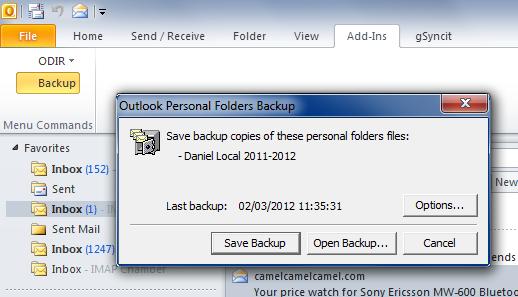 Outlook Backup | Digital Red